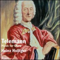 Telemann: Music for Oboe - Christiane Jaccottet (harpsichord); Heinz Holliger (oboe); Klaus Thunemann (bassoon)