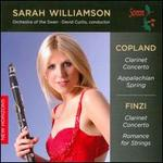 Sarah Williamson Plays Copland & Finzi