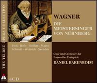 Wagner: Die Meistersinger von N�rnberg - Alfred Reiter (bass); Andreas Schmidt (tenor); Bernhard Schneider (tenor); Birgitta Svenden (mezzo-soprano);...