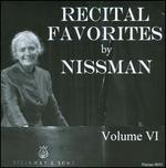 Recital Favorites by Nissman, Vol. 6