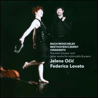 Kreutzer-Sonata and Other Works for Violoncello & Piano - Federico Lovato (piano); Jelena Ocic (cello)