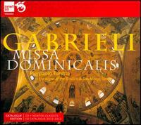 Gabrieli: Missa Dominicalis - Ivan Florjac (vocals); Pierpaolo Turetta (organ)