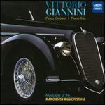 Vittorio Giannini: Piano Quintet; Piano Trio