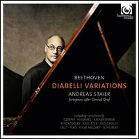 Beethoven: Diabelli Variations - Andreas Staier (piano); Andreas Staier (speech/speaker/speaking part)