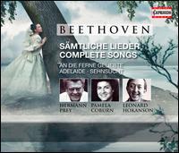 Beethoven: Complete Songs - Heinrich-Sch�tz-Kreis Berlin; Hermann Prey (baritone); Leonard Hokanson (piano); Pamela Coburn (soprano)