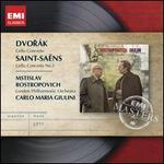 Dvor�k: Cello Concerto; Saint-Sadns: Cello Concerto No. 1