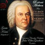 J.S. Bach: Sonatas for Flute and Harpsichord; C.P.E. Bach: Flute Concerto