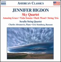 Jennifer Higdon: Sky Quartet; Amazing Grace; Sonata for Viola and Piano; Dark Wood; String Trio - Charles Abramovic (piano); Eric Stomberg (bassoon); Lawrence Stomberg (cello); Molly Carr (viola); Serafin String Quartet;...