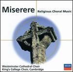 Cleobury/Willcocks Miserere-Sacred Choral Music