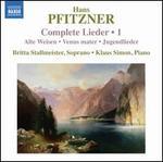 Pfitzner: Complete Lieder, Vol. 1
