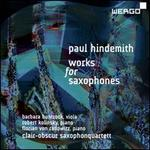 Hindemith Works for Sax