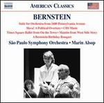 Bernstein: Suite for Orchestra From 1600 Pennsylvania Avenue [Säo Paulo Symphony Orchestra; Marin Alsop] [Naxos: 8559813]