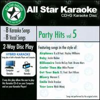 Karaoke: Party Hits, Vol. 5 - Karaoke