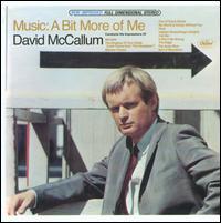 Music - A Bit More Of Me - David McCallum