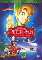 Peter Pan [Platinum Edition] [2 Discs] - Clyde Geronimi; Hamilton Luske; Wilfred Jackson