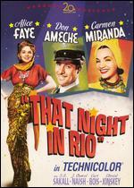 That Night in Rio (Fox Marquee Musicals)