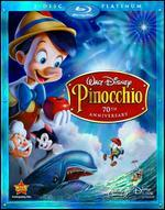 Pinocchio [70th Anniversary] [3 Discs] [Blu-ray/DVD]