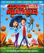 Cloudy with a Chance of Meatballs [2 Discs] [Blu-ray/DVD] - Christopher Miller; Phil Lord