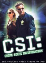 CSI: Crime Scene Investigation -  Season 3 [6 Discs] [Circuit City Exclusive] [Checkpoint]