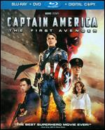 Captain America: The First Avenger [2 Discs] [Includes Digital Copy] [Blu-ray/DVD] - Joe Johnston