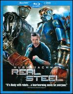 Real Steel [2 Discs] [Blu-ray/DVD] - Shawn Levy