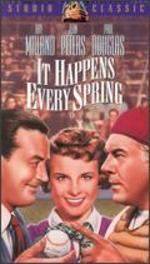 It Happens Every Spring [Vhs]