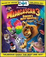 Madagascar 3: Europes Most Wanted [3D] [Blu-ray]