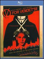 V for Vendetta [Includes Digital Copy] [UltraViolet] [Blu-ray]