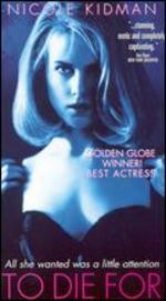 To Die for [Vhs]