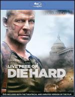 Live Free or Die Hard [2 Discs] [Blu-ray/DVD]