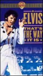 Elvis: That's the Way It is-Special Edition [Vhs Tape]