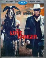 The Lone Ranger [2 Discs] [Includes Digital Copy] [Blu-ray/DVD]
