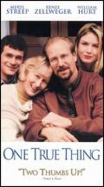 One True Thing [Vhs]