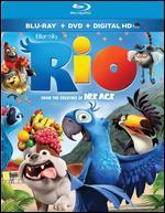 Rio [2 Discs] [Includes Digital Copy] [Blu-ray/DVD] - Carlos Saldanha