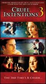 Cruel Intentions 3 [Vhs]