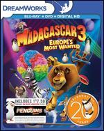 Madagascar 3: Europe's Most Wanted [Includes Digital Copy] [Blu-ray/DVD] [Movie Money]