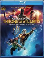DCU Justice League: Throne of Atlantis [Commemorative Edition] [Digital Copy] [Blu-ray/DVD]