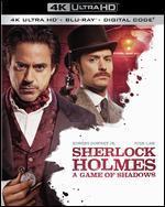 Sherlock Holmes: A Game of Shadows [Includes Digital Copy] [4K Ultra HD Blu-ray/Blu-ray]