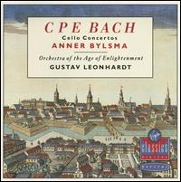 CPE Bach: Cello Concertos - Anner Bylsma (cello); Orchestra of the Age of Enlightenment; Gustav Leonhardt (conductor)