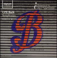 CPE Bach: Symphonies - Orchestra of the Age of Enlightenment; Rebecca Miller (conductor)