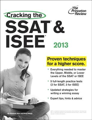 Cracking the SSAT & ISEE - Silas, Elizabeth, and Talada, Reed