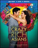 Crazy Rich Asians [Includes Digital Copy] [Blu-ray/DVD] - Jon M. Chu