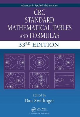 CRC Standard Mathematical Tables and Formulas - Zwillinger, Daniel (Editor)