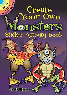 Create Your Own Monsters Sticker Activity Book - Whelon, Chuck