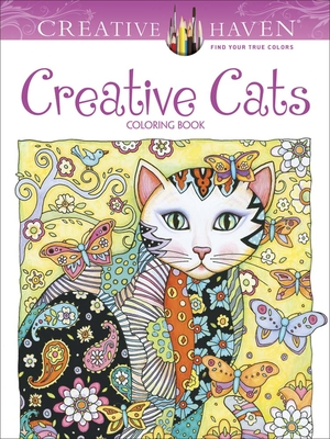Creative Haven Creative Cats Coloring Book - Sarnat, Marjorie