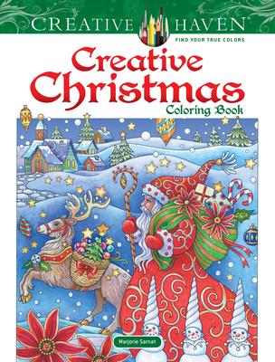 Creative Haven Creative Christmas Coloring Book - Sarnat, Marjorie