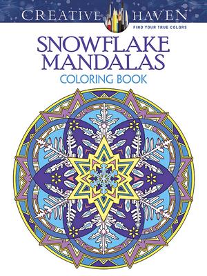 Creative Haven Snowflake Mandalas Coloring Book - Noble, Marty