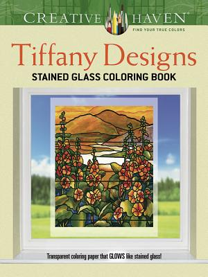 Creative Haven Tiffany Designs Stained Glass Coloring Book - Smith, Albert G.