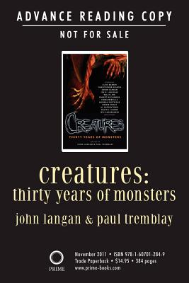 Creatures: Thirty Years of Monsters - Barker, Clive, and Golden, Christopher, and Lansdale, Joe R