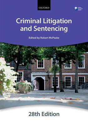 Criminal Litigation and Sentencing - The City Law School